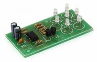 Радиоконструктор K147 (Мерцающий светодиодный цветок)