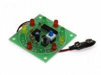 Радиоконструктор K148 (Светодиодная Игра Рулетка)