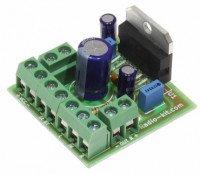 Радиоконструктор K161.1 (УНЧ TDA7377 стерео 2х30W)