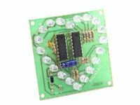 Радиоконструктор K203 (светодиодное сердце, бегущий огонь)