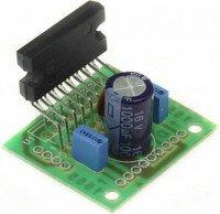 Радиоконструктор K210B (УНЧ TDA1555)