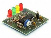 Радиоконструктор M126 (светодиодный индикатор уровня напряжения)