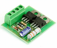 Радиоконструктор M134 (устройство плавного включения ламп)