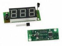 Радиоконструктор M167 (термометр цифровой 9-канальный (DS18B20), индикатор 0.56,-50...120C)