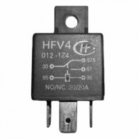 Реле автомобильное HFV4-012-1Z4 12VDC SPDT 40A