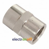 Резьбовое соединение с внутренней резьбой 1/4 x 1/4 PT-1860 Intertool