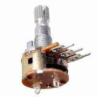 Резистор переменный RV16S 10 кОм линейный моно (с выкл.)