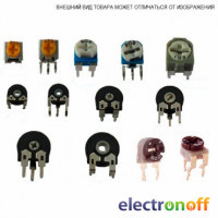 Резистор подстроечный 3296X 500 Ом