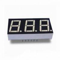 Семисегментный индикатор 14 мм, трехразрядный, красный, ОК (KEM-5631-ASR)