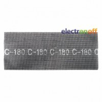 Сетка абразивная 105 x 280 мм К120 10 единиц KT-6012 Intertool