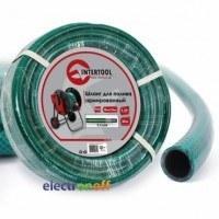 Шланг для полива 3-х слойный 1/2 дюйма 100 м армированный PVC GE-4027 Intertool