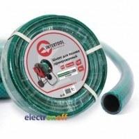 Шланг для полива 3-х слойный 1/2 дюйма 10м армированный PVC GE-4021 Intertool