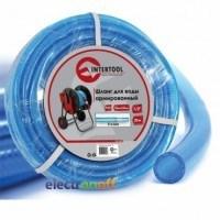 Шланг для воды 3-х слойный 1/2 дюйма 20 м армированный PVC GE-4053 Intertool