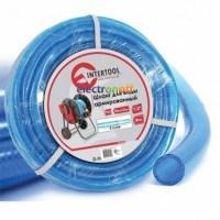 Шланг для воды 3-х слойный 1/2 дюйма 30 м армированный PVC GE-4055 Intertool