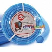 Шланг для воды 3-х слойный 3/4 дюйма 100 м армированный PVC GE-4077 Intertool