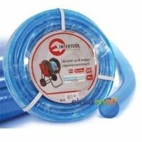 Шланг для воды 3-х слойный 3/4 дюйма 10 м армированный PVC GE-4071 Intertool