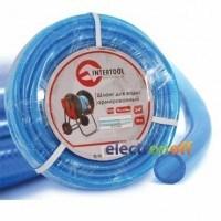 Шланг для воды 3-х слойный 3/4 дюйма 50 м армированный PVC GE-4076 Intertool