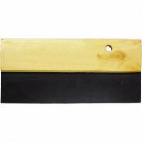 Шпатель резиновый 200 мм с деревянным держателем KT-2012 Intertool
