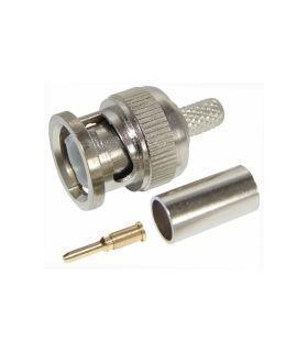 Штекер BNC под обжим на кабель RG-58 (BNC-C58P)