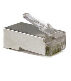 Штекер телефонный экранированный 8p8c