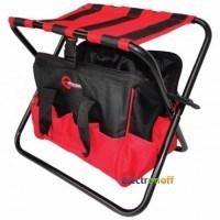 Складной стул с сумкой, универсальный до 90кг, 420 x 310 x 360 мм BX-9006 INTERTOOL