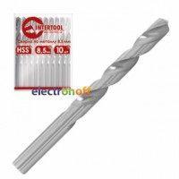 Сверло по металлу DIN338 1 мм HSS SD-5010 Intertool
