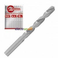 Сверло по металлу DIN338 8.5 мм HSS SD-5085 Intertool