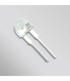 Светодиод D = 10 мм суперяркий 4-кристальный 140 градусов 80mA синий