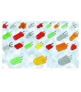 Светодиод D = 8 мм 41 прозрачно белый (ф9 h8), 80cd 110°, CPM10-150AW60-801