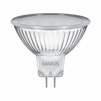 Светодиодная LED лампа 1-LED-143-0 MAXUS1 MR16 GU5,3 3W 3000K GL