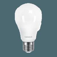 Светодиодная LED лампа 1-LED-561 MAXUS Е-27 10W А-60 3000К