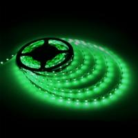 Светодиодная лента 3528 120led зеленая IP65 MTK-600GF3528-12