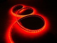 Светодиодная лента 3528 60led красная IP65  MTK-300RF3528-12