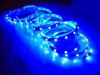 Светодиодная лента 3528 60led синяя IP20  MTK-300B3528-12