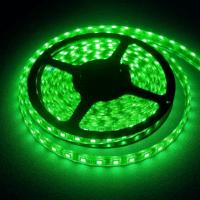 Светодиодная лента 3528 60led зеленая IP65 MTK-300GF3528-12