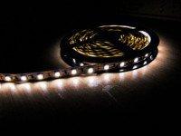 Тип светодиодов: SMD 5050; Длина ленты: 5 м; Количество светодиодов на 1м: 60шт;