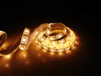 Светодиодная лента 5050 60led белая теплая IP20  MTK-300WW5050-12
