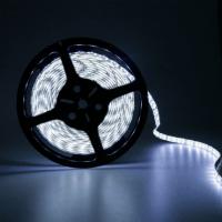 Светодиодная лента влагозащищённая 300 светодиодов 12V. Тип 5050. Цвет белый 5м.