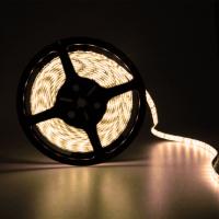 Светодиодная лента влагозащищённая 300 светодиодов 12V. Тип 5050. Цвет белый тёплый 5м. H206WCW
