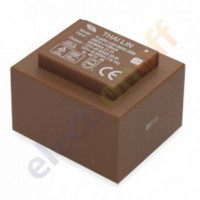 Трансформатор 20VA 230V, 2х12V 0,833А 53х63х45мм TL60D-120-0833