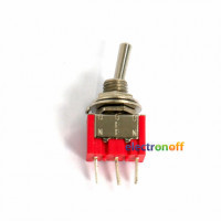 Тумблер MTS 103 on-off-on, 3pin