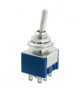 Тумблер MTS 203 on-off-on, 6pin