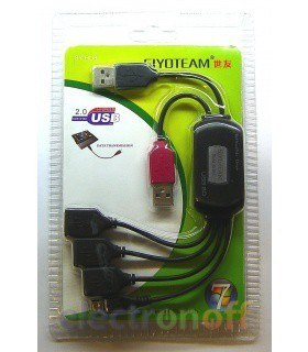 USB хаб+зарядка SY-HU8
