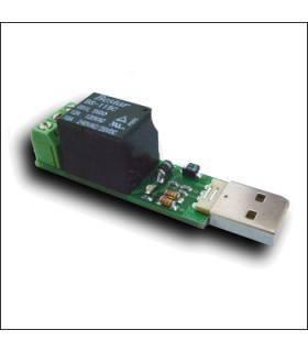 USB реле, управляемое через интернет MP709