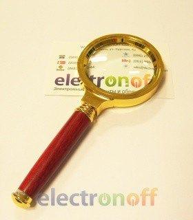 Увеличительное стекло ручное Gold d-60mm