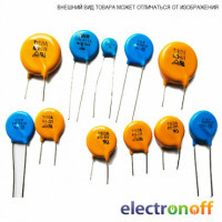 Варистор 390В d-20мм (HEL-20D391K)