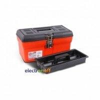 Ящик для инструмента с металлическими замками 13 дюймов 330 x 180 x 165 мм BX-1113 INTERTOOL