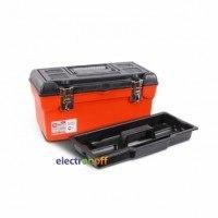 Ящик для инструмента с металлическими замками 16 дюймов 396 x 216 x 164 мм BX-1116 INTERTOOL