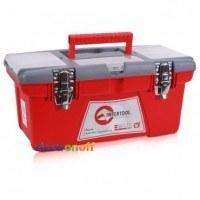 Ящик для инструмента с металлическими замками 16 дюймов 415 x 210 x 190 мм BX-0516 INTERTOOL