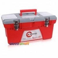 Ящик для инструмента с металлическими замками 18 дюймов 480 x 250 x 230 мм BX-0518 INTERTOOL
